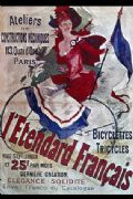 French cycling poster - L'Etendard Francais